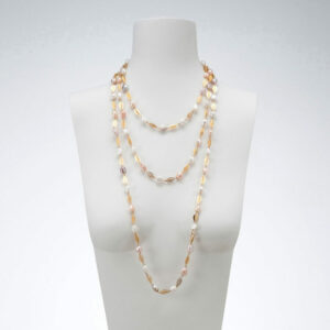 Sautoir oro filigranato perle