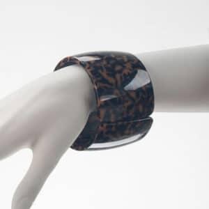 bracciale rigido maculato