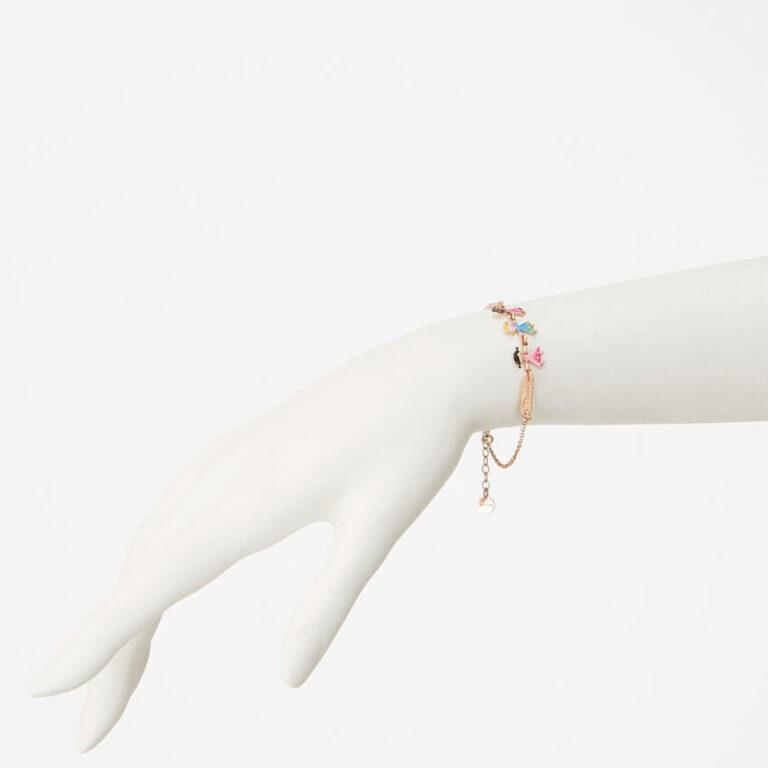 braccialetto pace smalti bambini