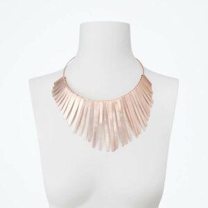 collana girocollo oro rosa