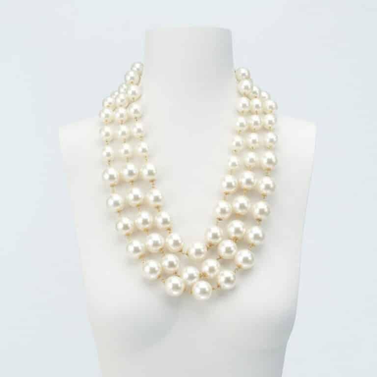 collana perle 3 fili