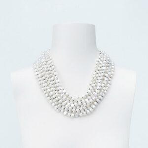 collana perle multifilo