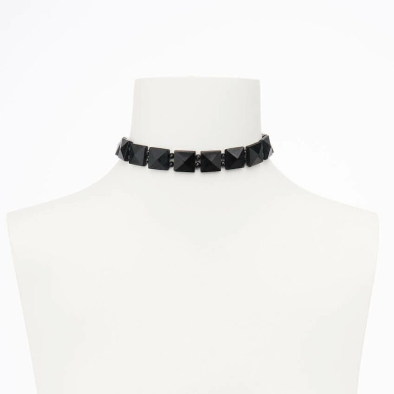 collarino chocker nero