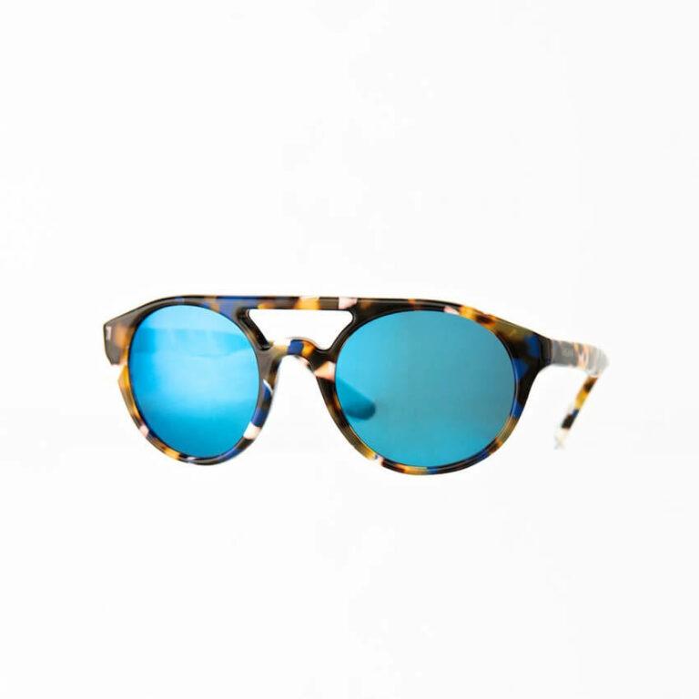 occhiali sole pagani corsa blu tartaruga