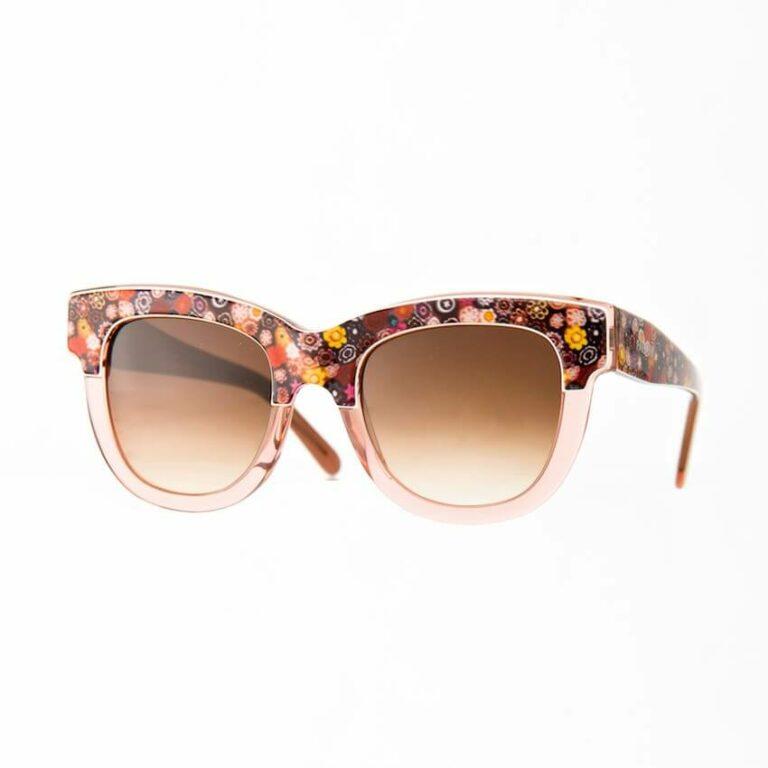 occhiali sole pagani fiore cipria
