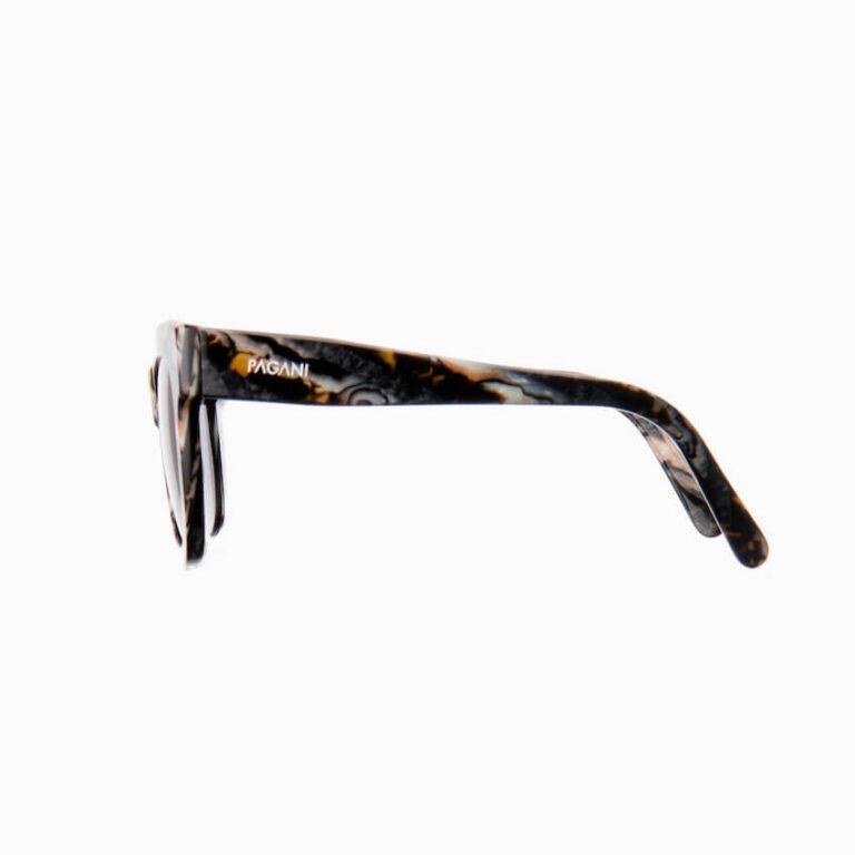 occhiali sole pagani fiore marmo grigio