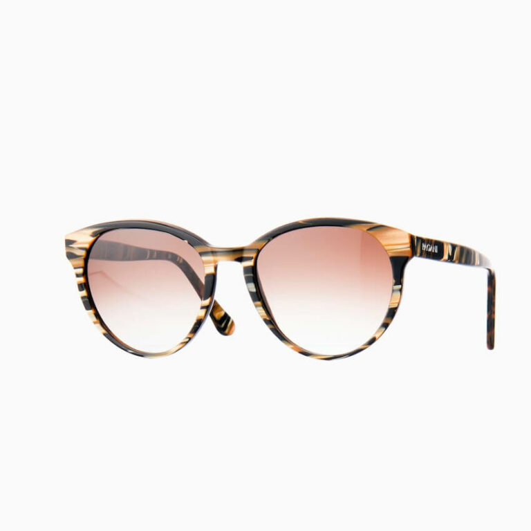 occhiali sole pagani iris fiammato oro