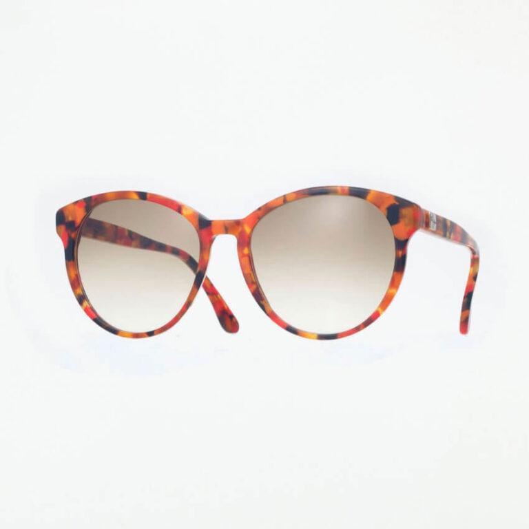 occhiali sole pagani iris rosso arancione
