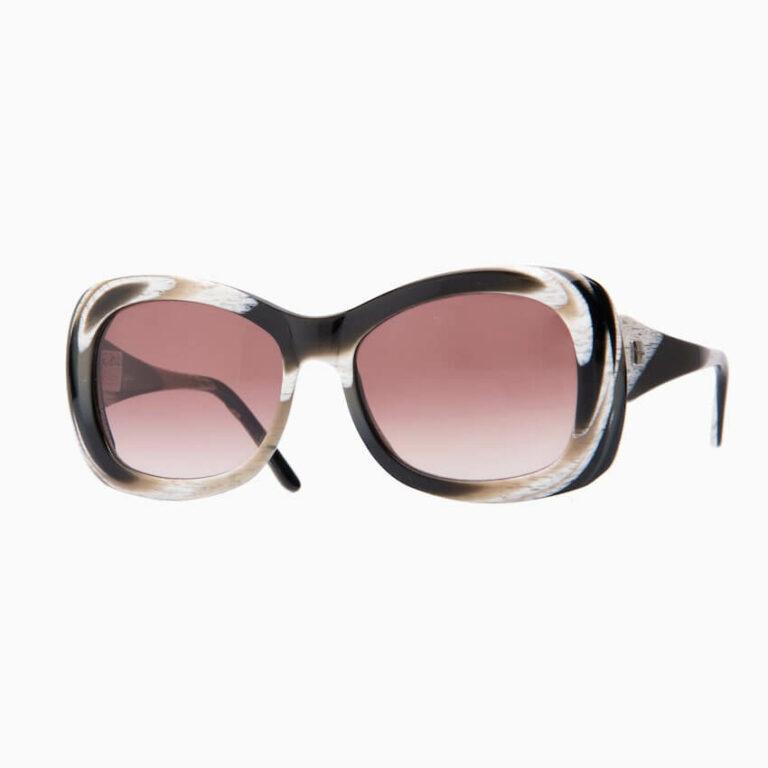 occhiali sole pagani jacqueline avana bianco nero