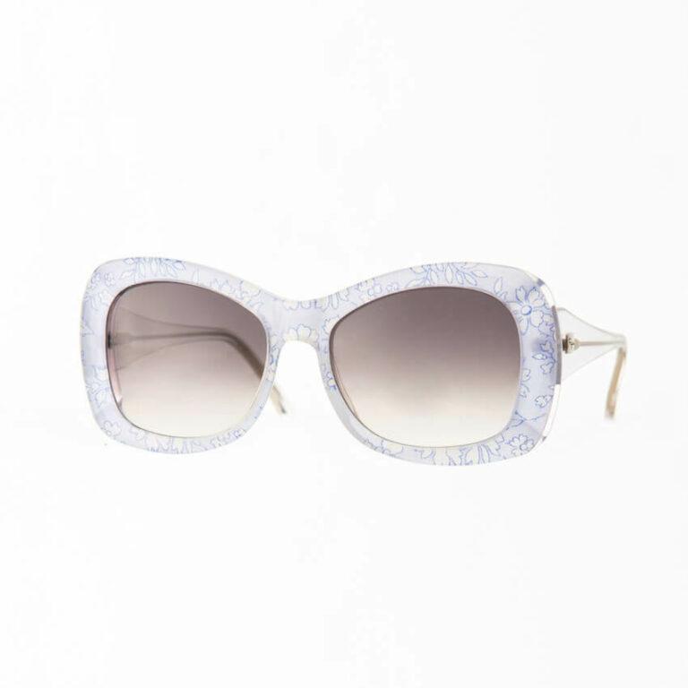 occhiali sole pagani jacqueline azzurro fiori