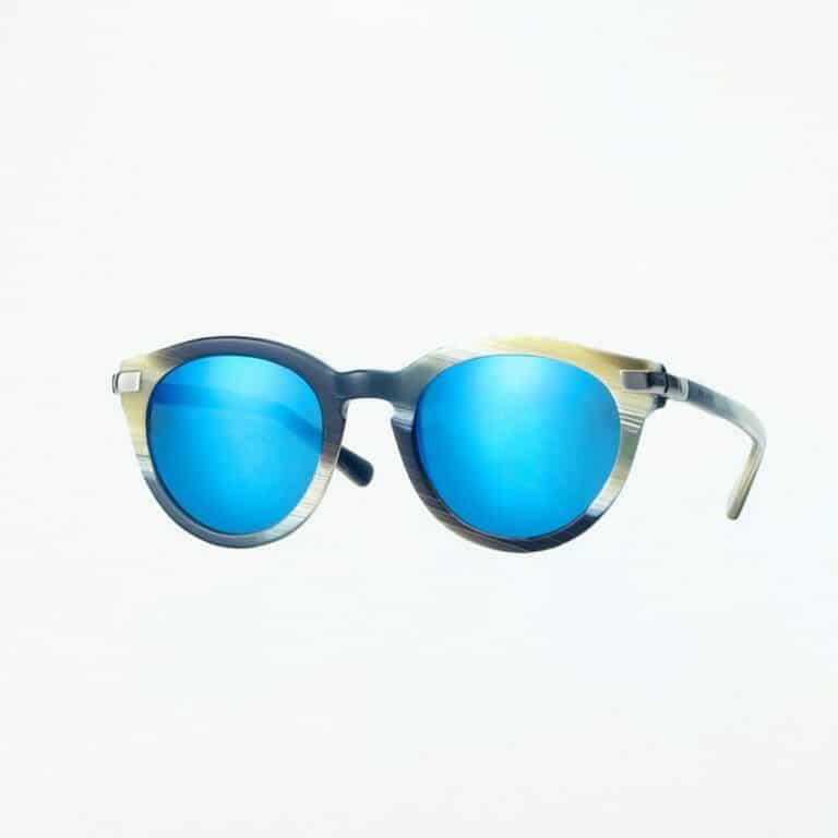 occhiali sole pagani leo corno