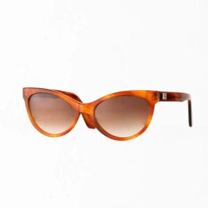 occhiali sole pagani papillon arancione