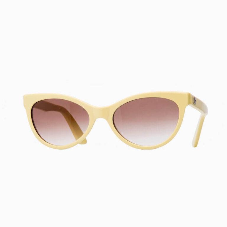 occhiali sole pagani papillon giallo