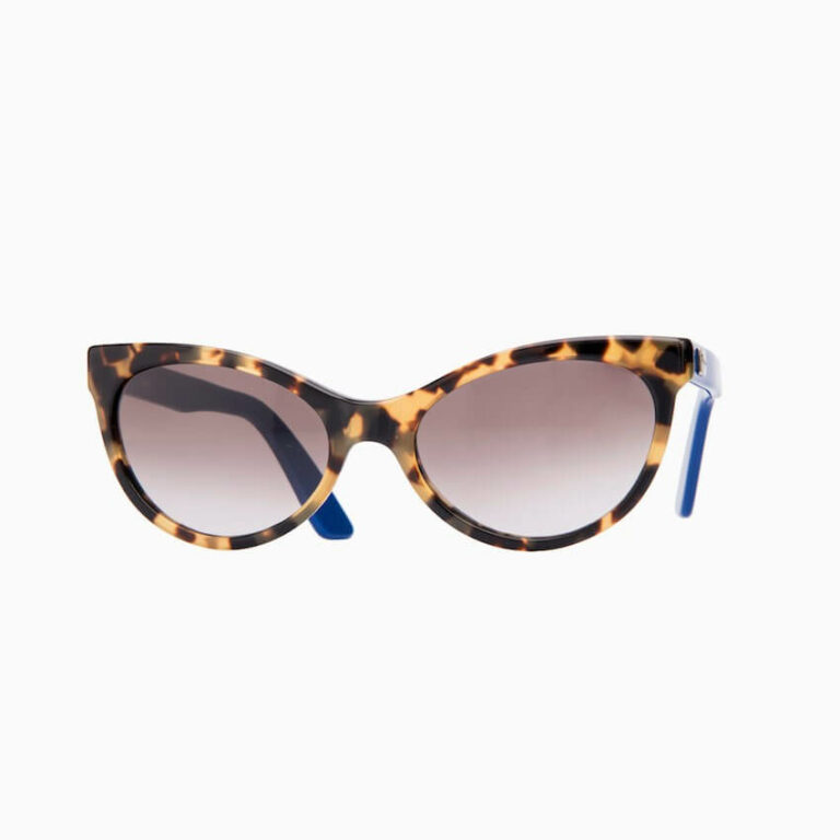 occhiali sole pagani papillon tartaruga blu