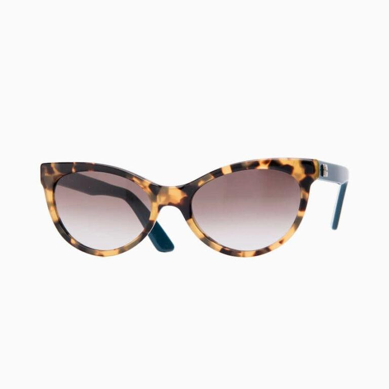 occhiali sole pagani papillon tartaruga verde