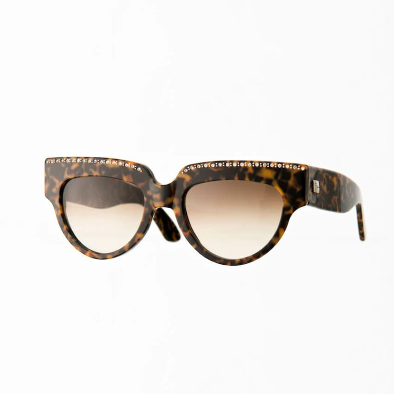 occhiali sole pagani star maculato strass