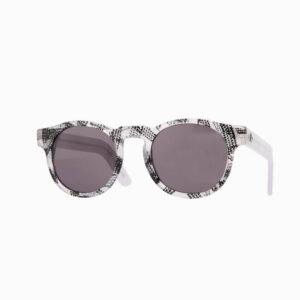 occhiali sole pagani young nero bianco