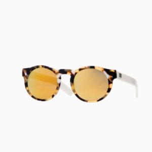 occhiali sole pagani young patch bianco