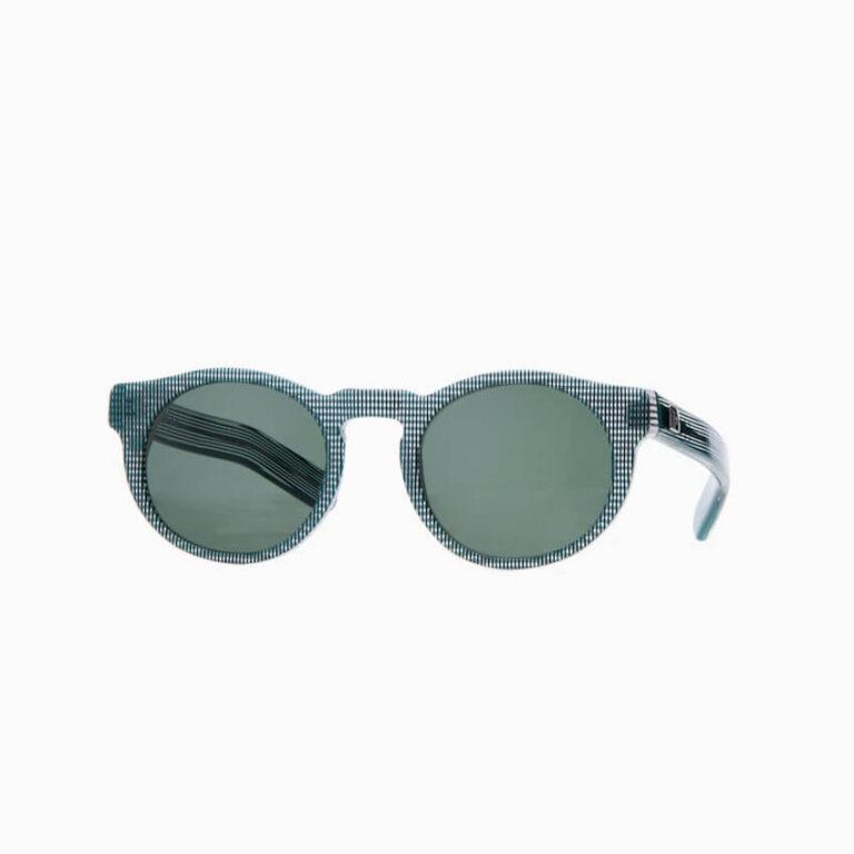 occhiali sole pagani young quadretti verdi bianchi