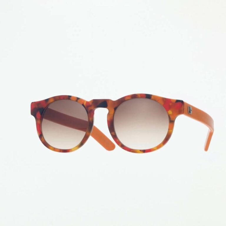 occhiali sole pagani young rosso arancione