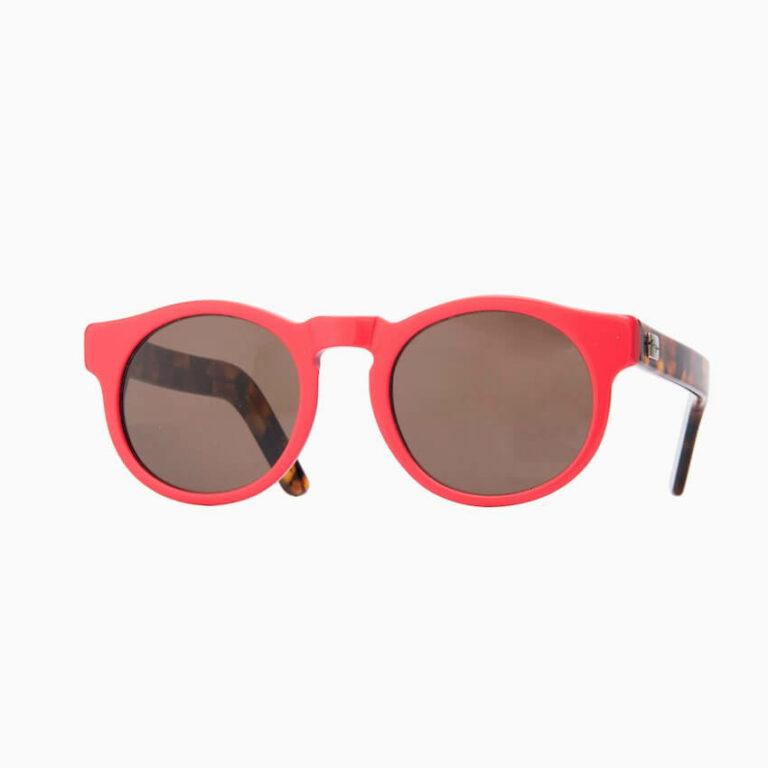 occhiali sole pagani young rosso tartaruga