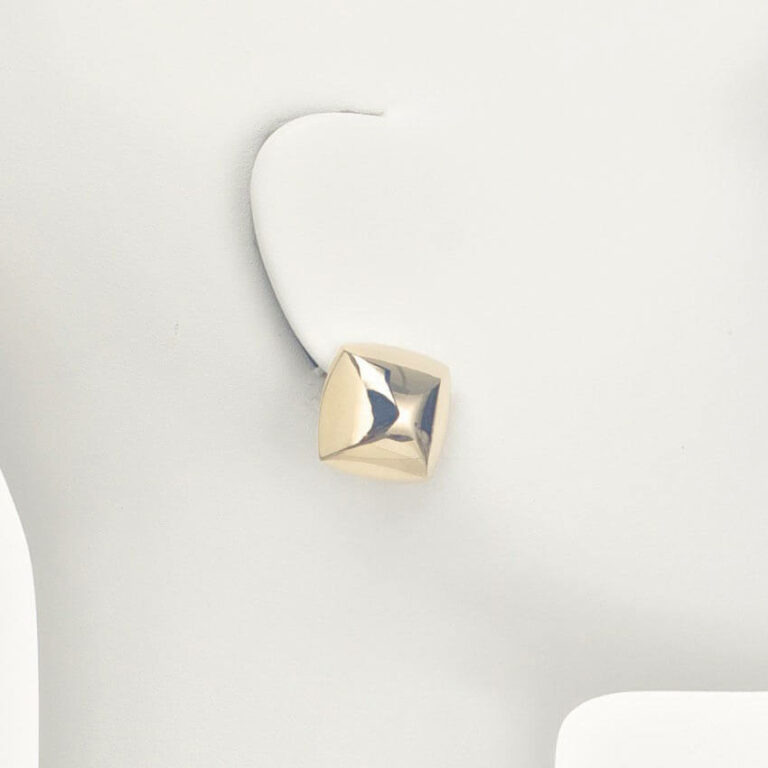 orecchino clip lobo oro