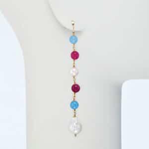 orecchino pendente perle fiume pietre dure-02