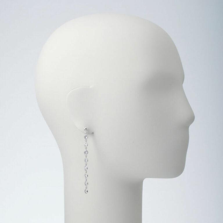 orecchino perbo pendente zirconi