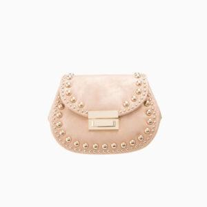 pochette borsina rosa oro