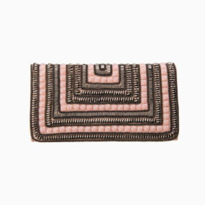 pochette busta rosa bronzo