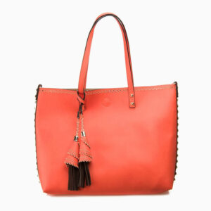 shopping bag arancione