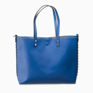 shopping bag blu