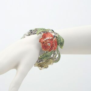 Bracciale rigido rose multicolor