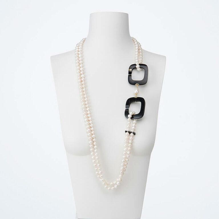 collana lunga ebano perle 01