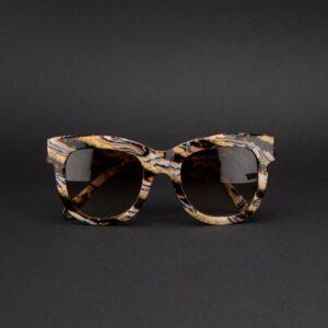 occhiali sole pagani fiore marmo oro 6