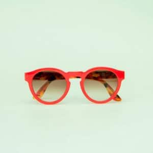 occhiali sole pagani young rosso tartaruga 5