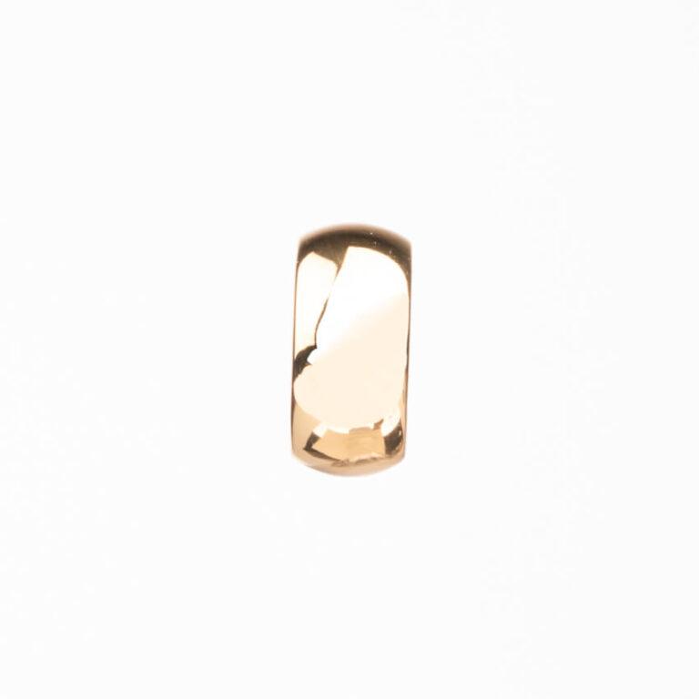 Anello fascia stondata oro 3
