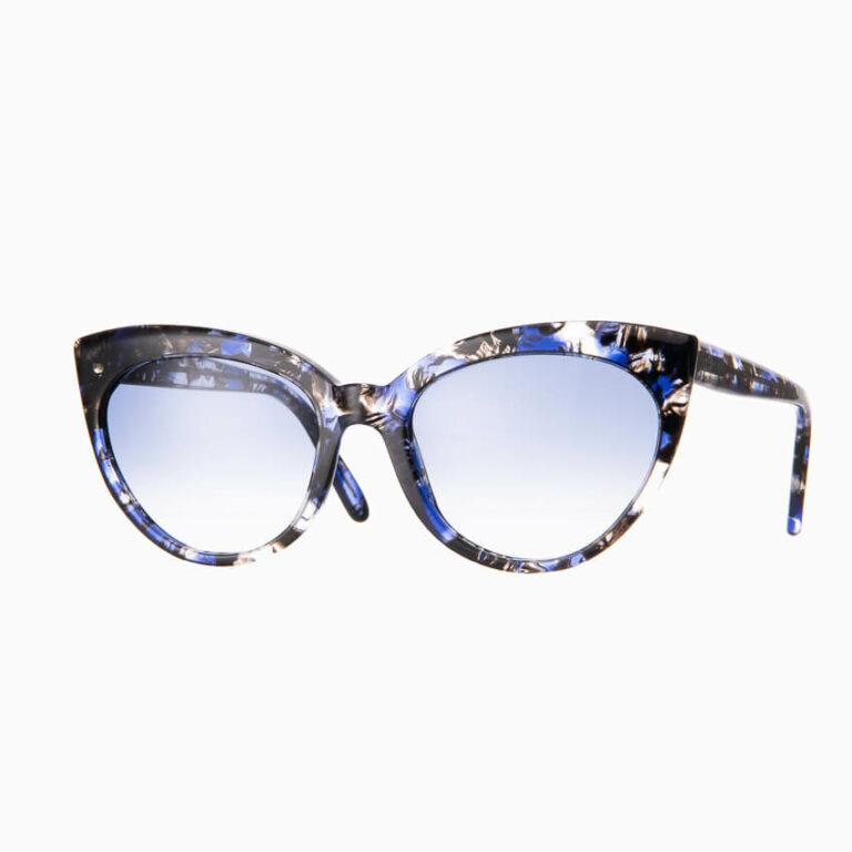 Occhiali sole Pagani modello Agata marmo blu 1