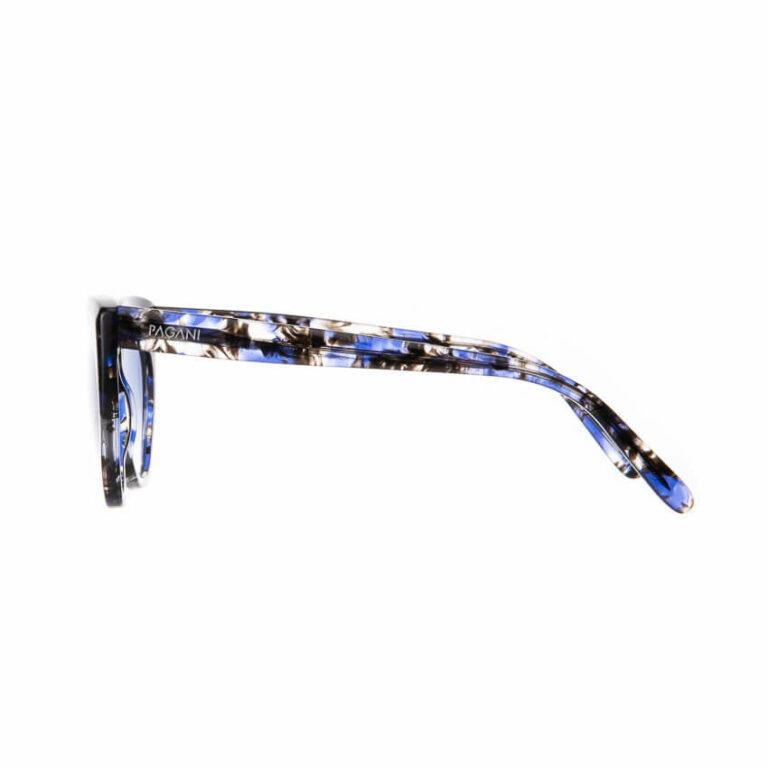 Occhiali sole Pagani modello Agata marmo blu 2
