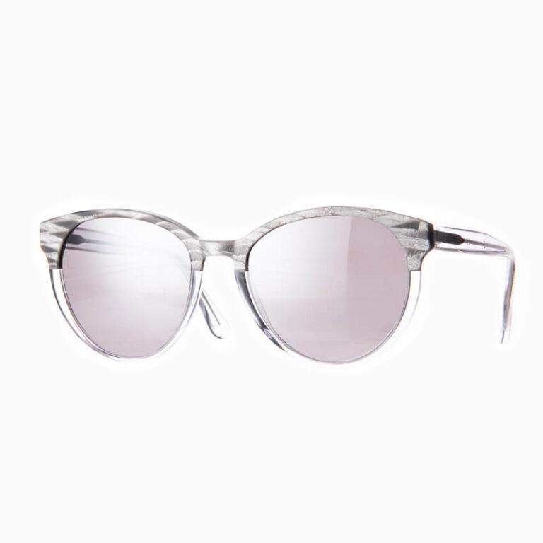 Occhiali sole Pagani modello Iris Silver specchio 3