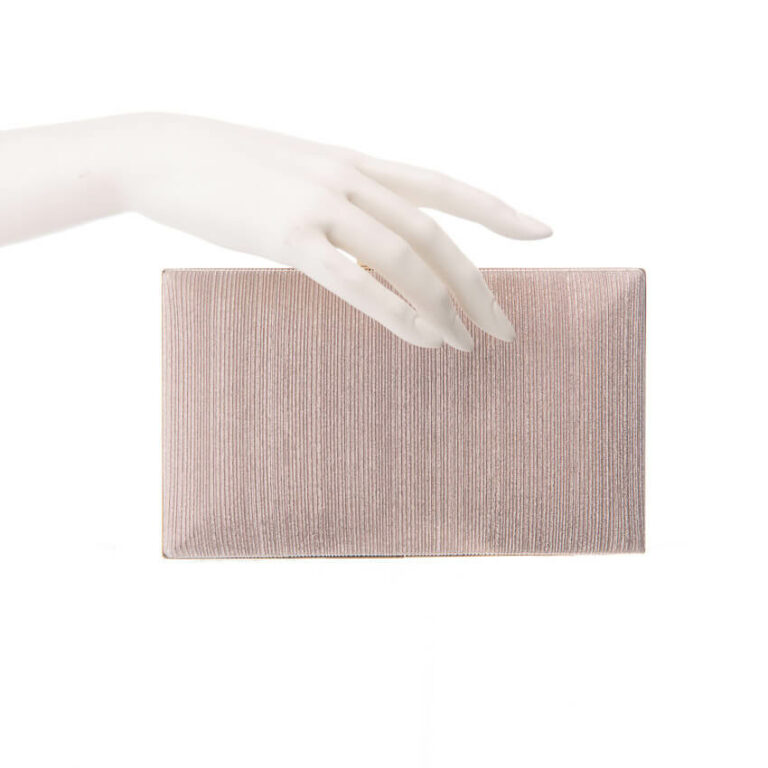 Clutch bright box rosa nude 3
