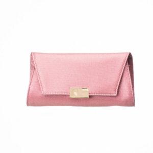 Minibag tessuto glitter rosa antico 1